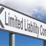 limited liability company street sign graphic
